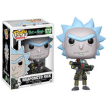 Rick and Morty Pop! Vinyl Figure Weaponized Rick [172] - Fugitive Toys