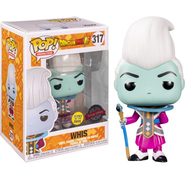 Dragon Ball Super Pop! Vinyl Figure Whis (Glow in the Dark) [317]