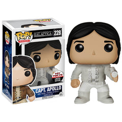 Battlestar Galactica Pop! Vinyl Figure Captain Apollo [Experiment in Terra Uniform] Toy Tokyo Exclusive - Fugitive Toys