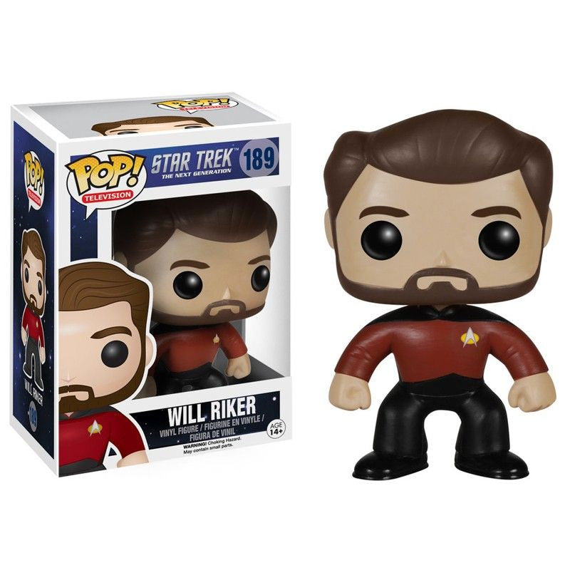 Star Trek The Next Generation Pop! Vinyl Figure Will Riker