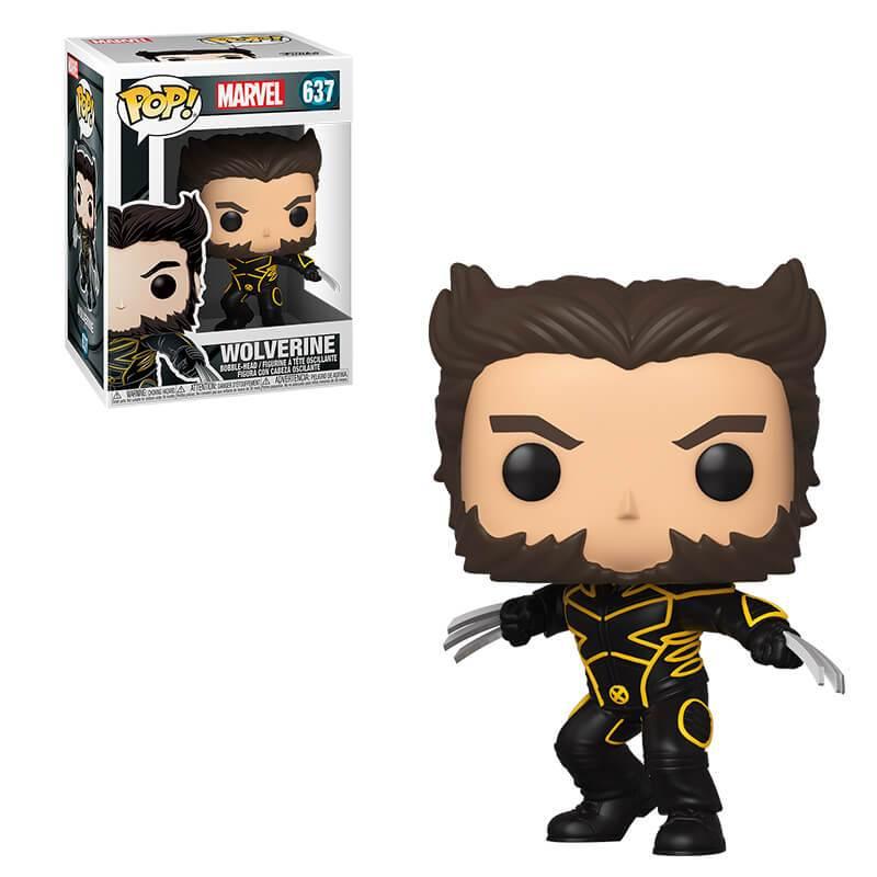 Marvel X-Men 20th Anniversary Pop! Vinyl Figure Wolverine in Jacket [637]