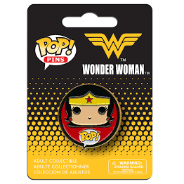 Wonder Woman Pop! Pins Wonder Man - Fugitive Toys