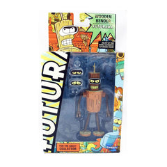 Toynami Futurama Wooden Bender Action Figure