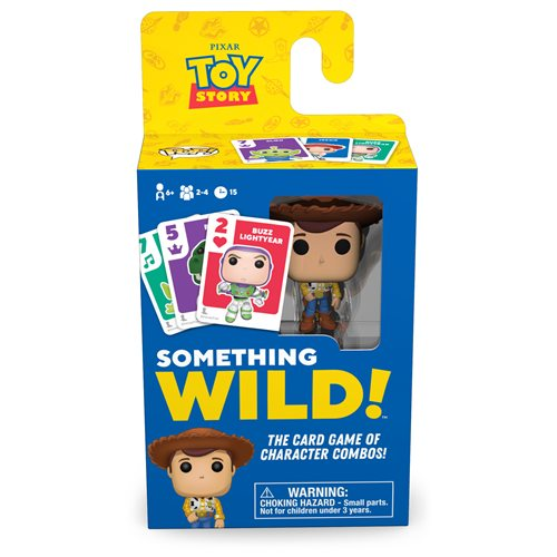 Disney Something Wild Pop! Card Game Toy Story Woody