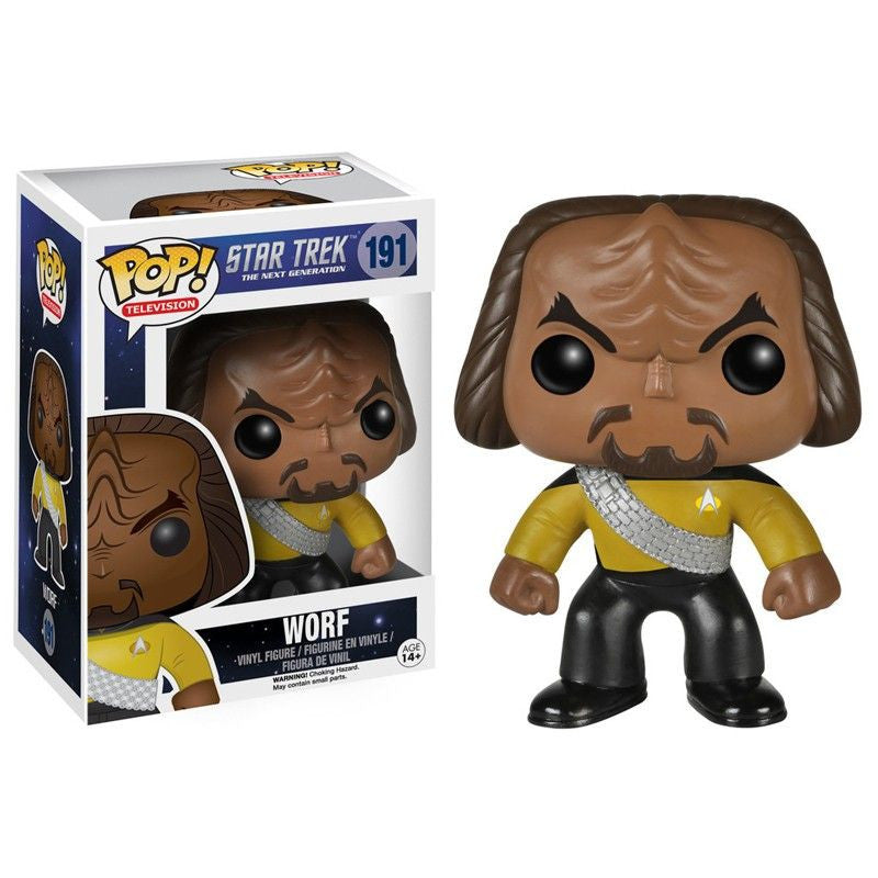 Star Trek The Next Generation Pop! Vinyl Figure Worf
