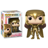 Wonder Woman 1984 Pop! Vinyl Figure Wonder Woman Golden Armor [323] - Fugitive Toys
