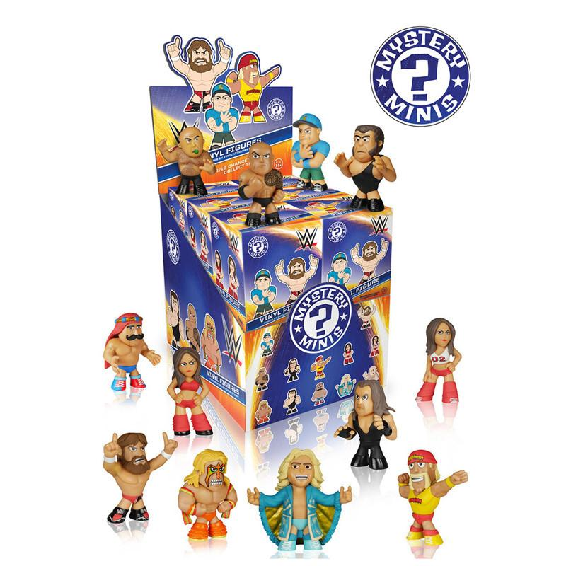 WWE Mystery Minis: (Case of 12) - Fugitive Toys