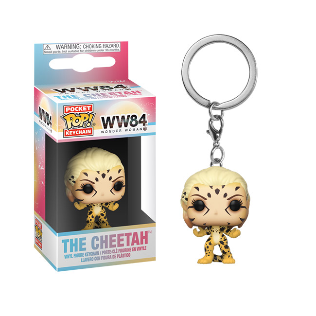 Wonder Woman 1984 Pocket Pop! Keychain The Cheetah - Fugitive Toys