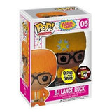 Yo Gabba Gabba! Pop! Vinyl Figure DJ Lance Rock: GITD  [SDCC 2012 Exclusive] [05] - Fugitive Toys