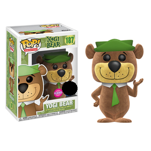 Yogi Bear Pop! Vinyl Figure Yogi Bear (Flocked) [187]