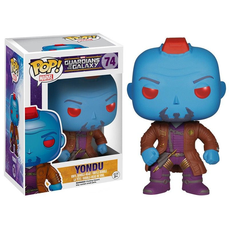 Marvel Guardians of the Galaxy Pop! Vinyl Bobblehead Yondu - Fugitive Toys