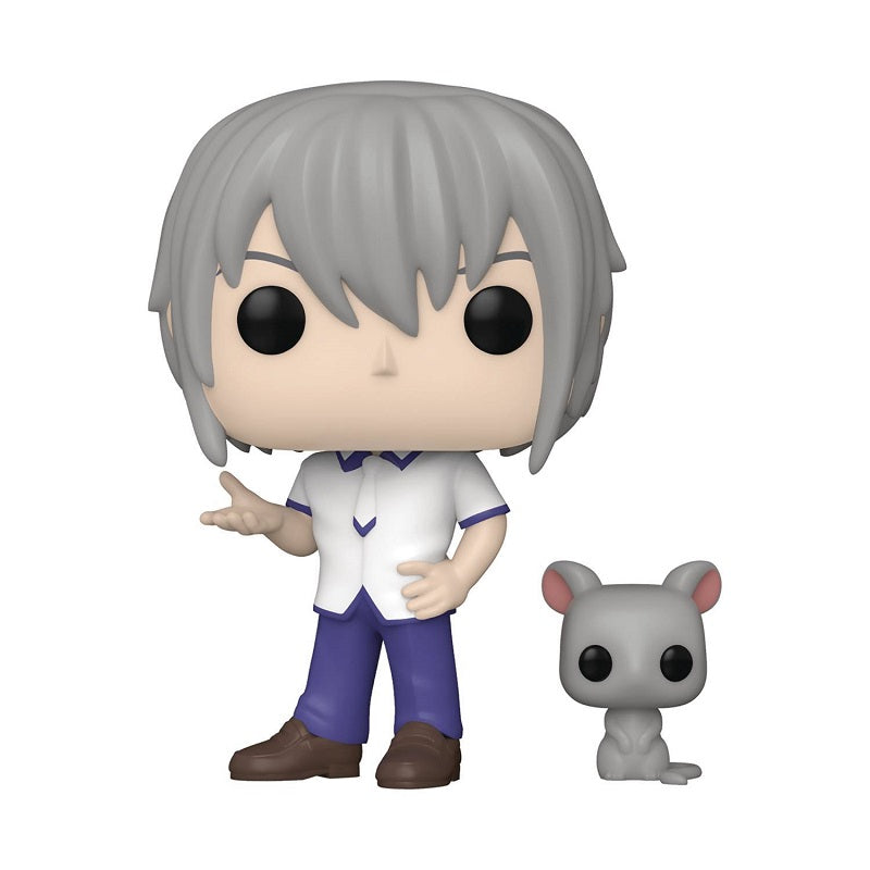 Fruits Basket Pop! Vinyl Figure Yuki Sohma with Rat (Specialty Series) [891]