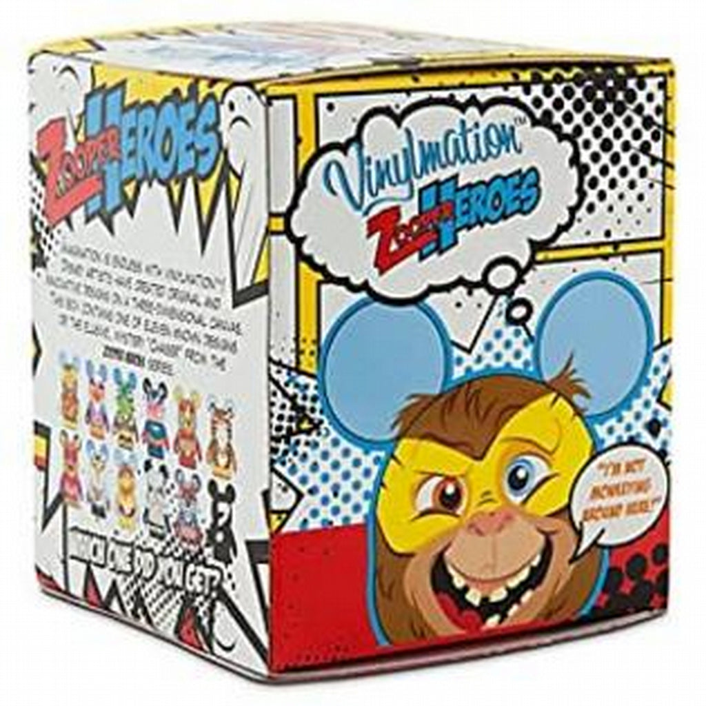 Disney Vinylmation Zooper Heroes: (1 Blind Box)