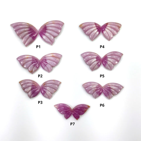Pink Sapphire Butterfly