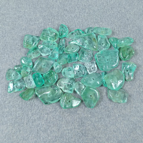 Drilled Emerald