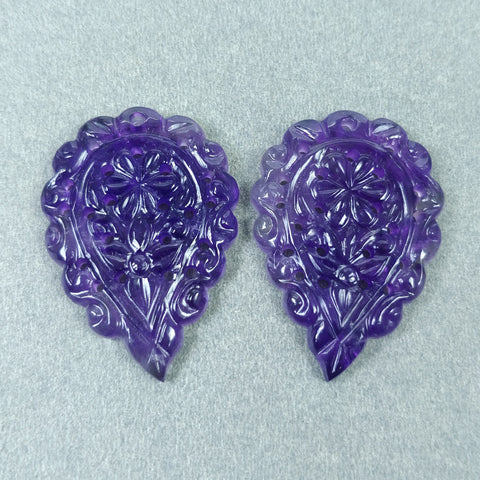 Amethyst Carving