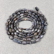 Silver Sapphire Beads