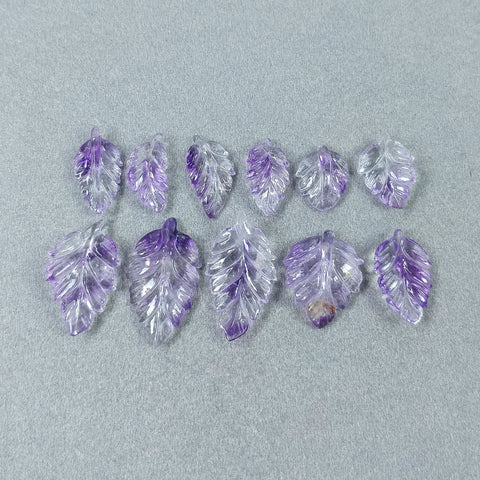 Amethyst Leaves