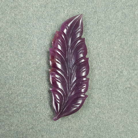 Hand Carved Leaf