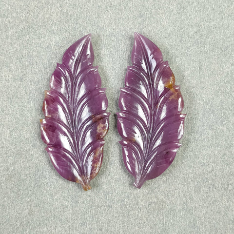 Hand Carved Leaves