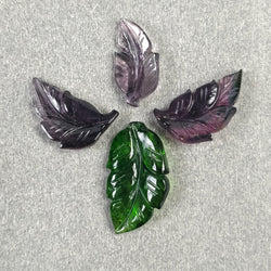 Chrome Diopside Leaf