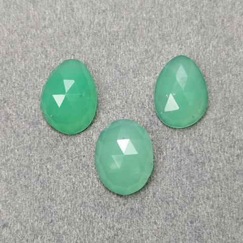 Rose Cut Chrysoprase