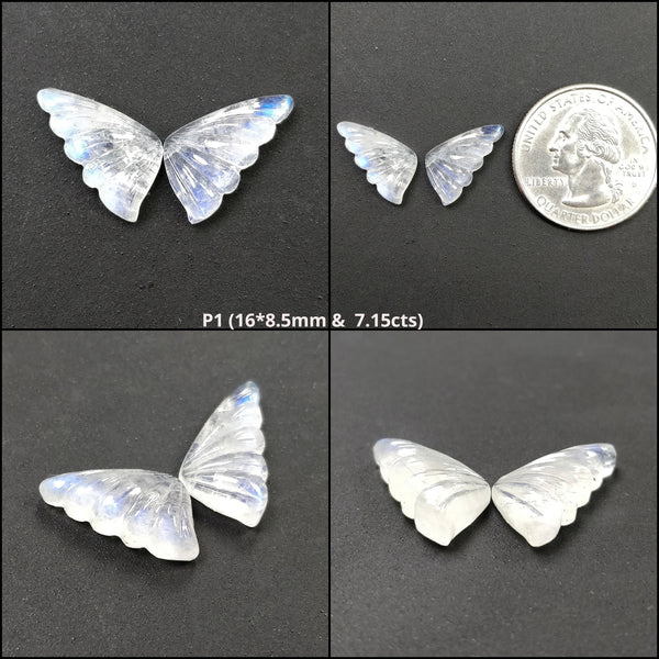 Rainbow Moonstone Butterfly