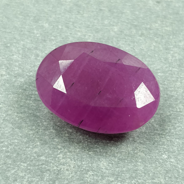 PINK SAPPHIRE Gemstone Cut : 16.00cts Natural Untreated Sapphire Normal Cut Oval Shape 17*12mm 1pc For Ring/Pendant