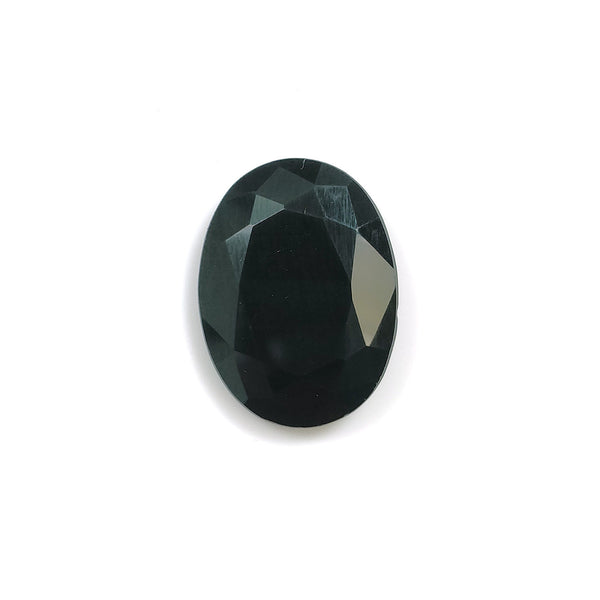 BLACK ONYX Gemstone Cut : 7.85cts Natural Onyx Gemstone Oval Shape Normal Cut 19*14.5mm 1pc For Jewelry
