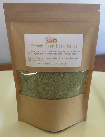 Bath Salts - French Pear