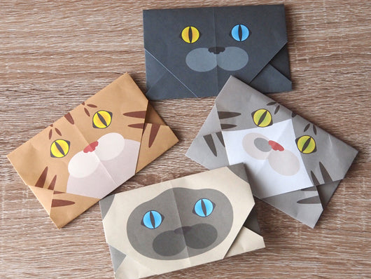 How to make Japanese pochibukuro envelope