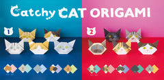 Making an Origami Cat with Catchy Cat Origami from Japan!