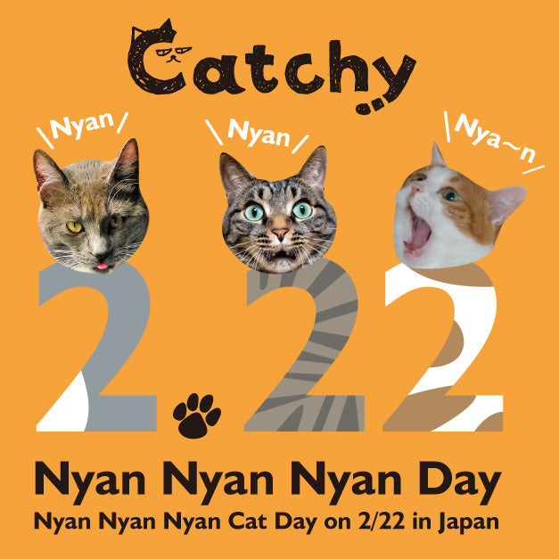 Catchy 222(Nyan Nyan Nyan) Cat Day! Image