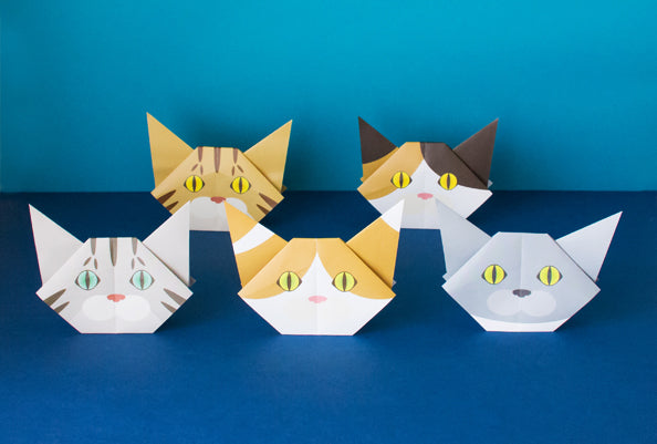 Cat Origami Vol1 Catchy
