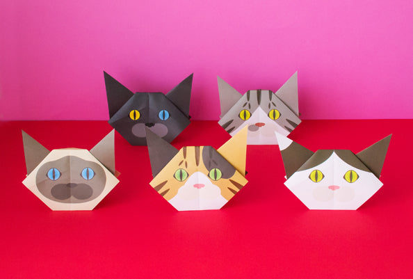Cat Origami Vol2 Catchy