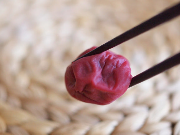 Making Homemade Umeboshi, Japanese Traditional Salt-Preserved Plums