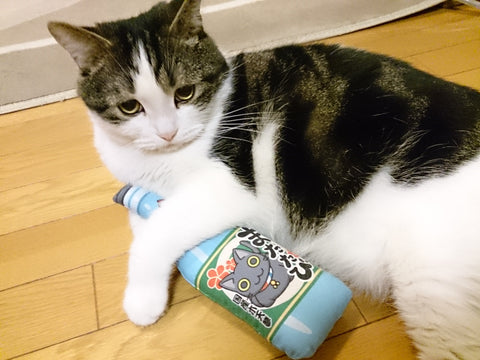 Cat Toys, Cat Kicker, Japanese-silvervine, *Osake-Bottle type* Big Size