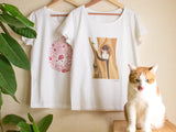 Cute Cat Ichigo Bucho's T-shirts-Catchy_boutique