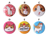 Cute Cat Ichigo Bucho's Pin Button Collection-Catchy_boutique