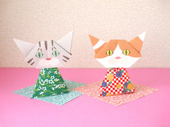 Cat Origami Vol.1 From Japan-Catchy_boutique