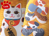 Japanese Lucky Cat, Maneki cat toys with Matatabi-Catchy_boutique