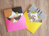 Cat Face Greeting Cards-Catchy_boutique