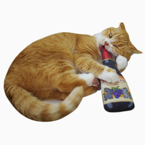 Big Wine Cat Toys with Japanese Silvervine