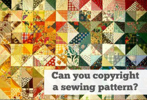Sewing Patterns and Trademarks