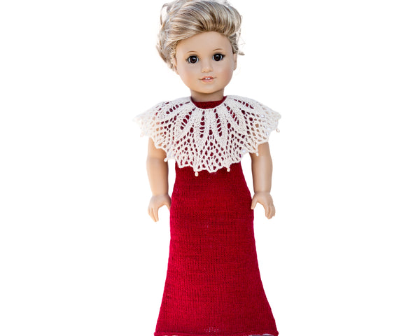Evening dress for your doll