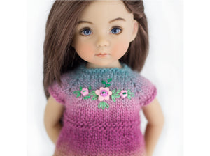 Knitting pattern for Little Darling dolls