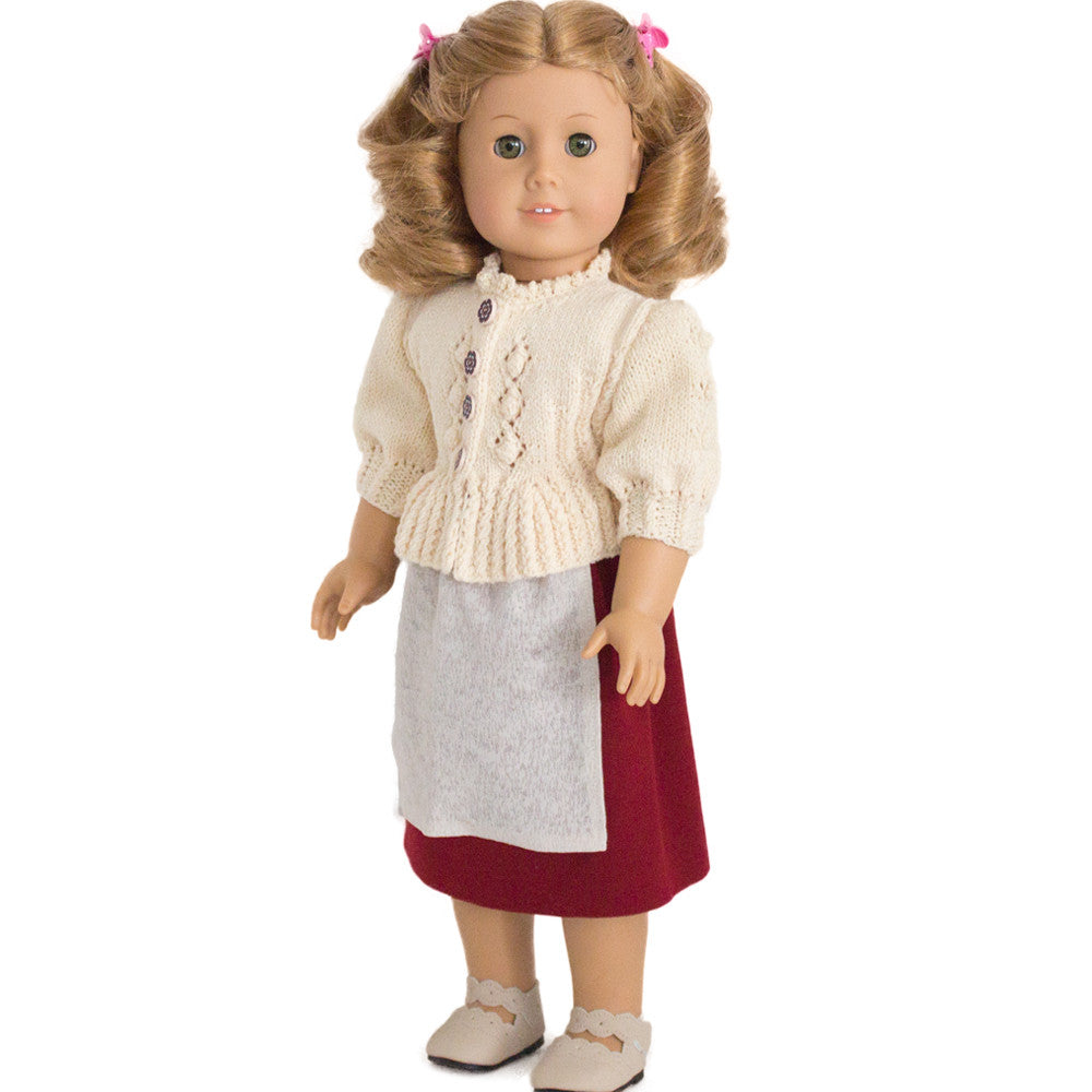 Cardigan pattern for American Girl doll