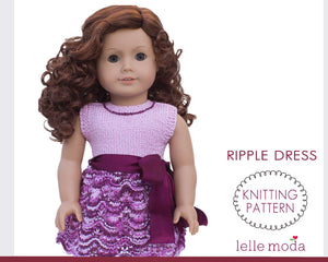 Dress pattern for American Girl dolls