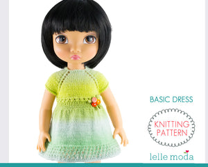 Basic dress for Disney Animators dolls