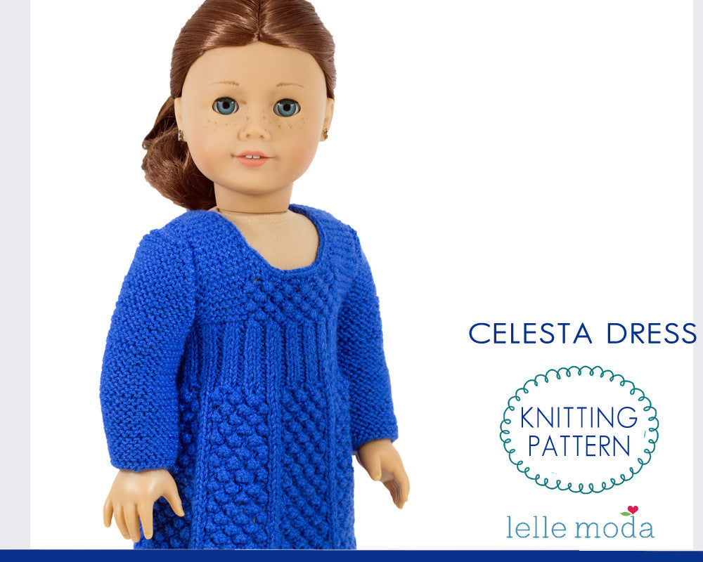Celesta dress for American Girl doll